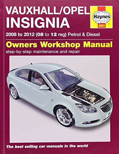 Vauxhall/Opel Insignia Petrol & Diesel Service and...