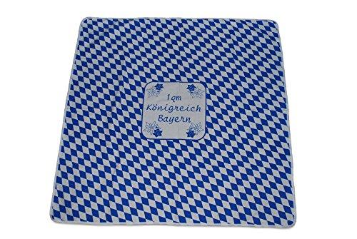 k/A Tischdecke 1 Quadratmeter Königreich Bayern