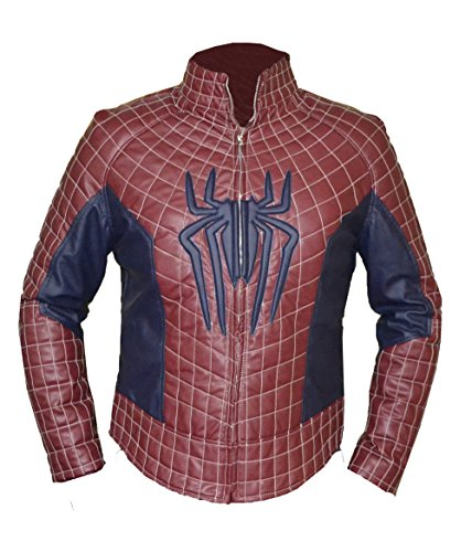 THE AMAZING SPIDER-MAN ANDREW GARFIELD KUNSTLEDER JACKE 2 (Amazing Spiderman Outfit)