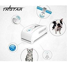 HaoYiShang TK600 Mini collares de la manera perseguidor del GPS para el pequeño perro del ANIMAL DOMÉSTICO Collares del gato localizador del perseguidor del GPS