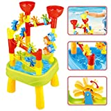 deAO Water Play Table Colorful Tower with Mills - Best Reviews Guide