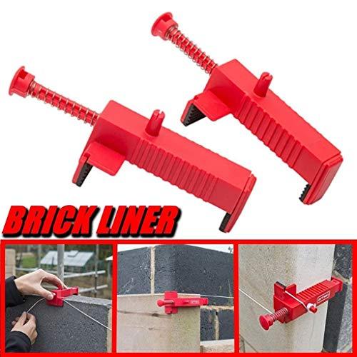 Bau Ziegel Futter Bord Durchflusskanal Draht Schublade Maurer Werkzeughalter, Wandverlegung Bau Draht Rack eine Box 2St