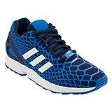Adidas ZX Flux techfit K B25659 Sneaker blau weiß (d/f 30 | uk 11½k)
