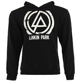 Linkin Park Concentric Sweat à Capuche (Noir) - X-Large