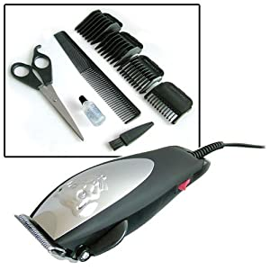 10 Piece Professional Pet Clipper Grooming Kit by Tooltime