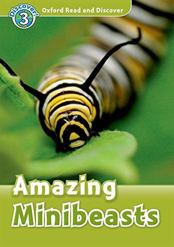 Oxford Read and Discover 3. Amazing Minibeasts Audio Pack