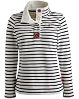 Joules Ladies? Cowdray Sweatshirt ?Navy Stripe Q_COWDRAY
