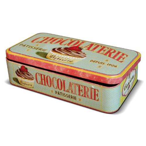 Natives 211143 Boîte pour Tablettes de Chocolat, Métal, Multicolore, 23 x 13 x 5,5 cm