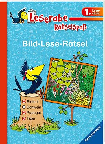 Bild-Lese-Rätsel (1. Lesestufe) (Leserabe - Rätselspaß)