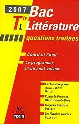 Bac littérature Tle L : Les Métamorphoses d'Ovide ; Contes de Charles Perrault ; Jacques le Fataliste de Denis Diderot ; Les Planches courbes d'Yves Bonnefoy