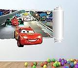 1Stop Graphics Shop Disney Cars volle Farbe Wandaufkleber - Mädchen Jungen Schlafzimmer C299 - Large: 70 cm x 96 cm
