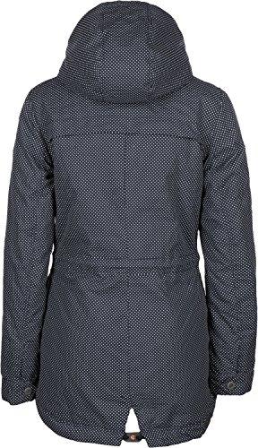 Ragwear Laika Minidots Jacket Navy Blau