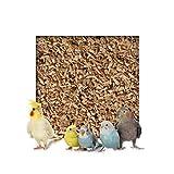 20kg Buchenholzgranulat Vogelsand Bodengrund Terrariensand Einstreu Terrariumsand Tiereinstreu Körnung Medium