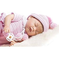 Poupée reborn poupee bebe reborn 45 cm bebe reborn fille poupon vrai bébé Ref 706 Nines Artesanals d'Onil