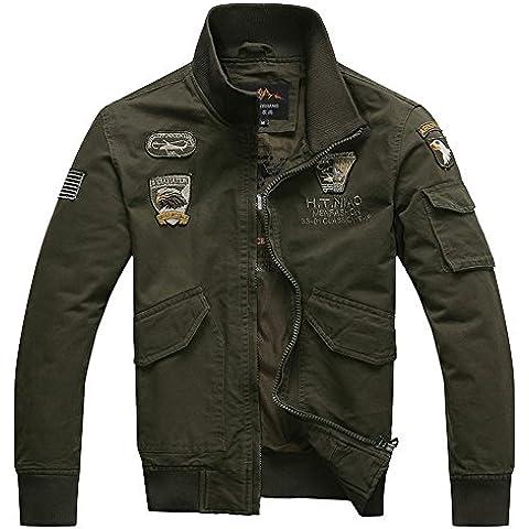 Uomini 's Caduta Giacca Per Il Tempo Libero Giacca Cotton Jacket Uniformi Slim