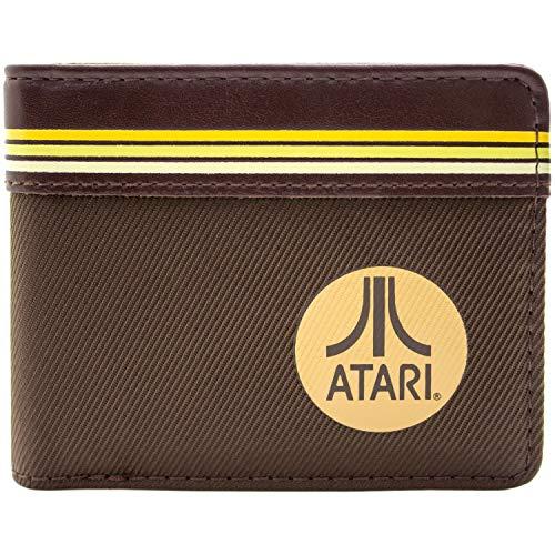 Atari Arcade Life Braun Portemonnaie Geldbörse
