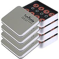 8, 16o 32piezas de rodamientos de carreras 608er 2RS ABEC-11 de Mach1 / Almacenaje y separador en una caja de metal para, por ejemplo, patines en línea, 32x Kugellager + 16x Spacer