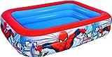 Color Baby - Piscina hinchable rectangular de Spiderman