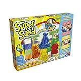 Super Sand - Safari Color, Arena Mágica con Figuras de Animales...