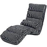 L&Y Klappsofa- Faltbares faules Sofa, waschbares faules Stuhl-Sofabett, einzelnes Balkon-Lehnen-Stühle schwimmende Stühle
