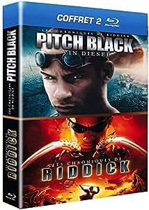 Coffret Riddick : Pitch Black + Les chroniques de Riddick [Blu-ray]