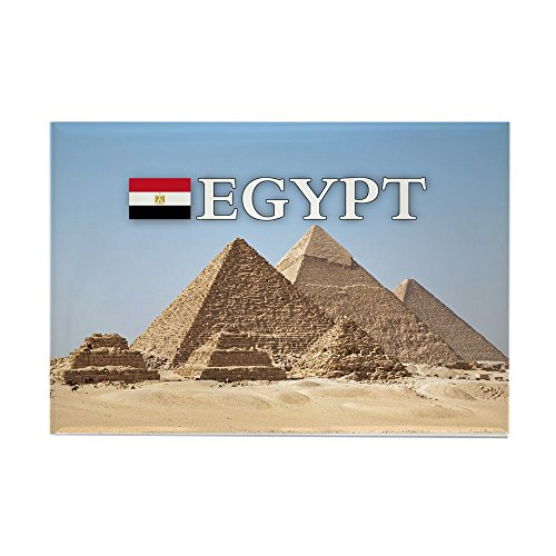 CafePress–Gizeh Pyramiden in Ägypten Rechteck Magnet–Rechteck Magnet, 5,1x 7,6cm Kühlschrank Magnet Magnet Kühlschrank Abdeckung