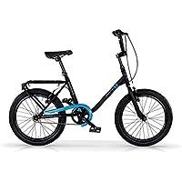 MBM FK-U, Bicicletta Minimale Unisex Bambini, Azzurro A25, Taglia Unica