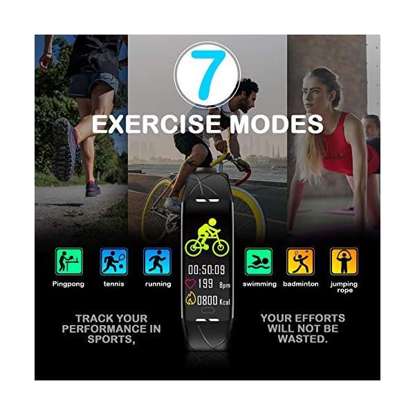 Pulsera Actividad Hombre Mujer - Pulsera Actividad Inteligente Reloj GPS Temporizador Podómetro Pulsómetro Impermeable IP68 Pulsera Deportiva Smartwatch Para Xiaomi Samsung Huawei Android iPhone iOS 4