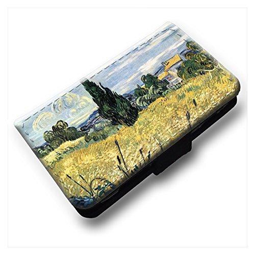 van-gogh-green-wheat-field-with-cypress-nero-portafoglio-magnetico-flip-custodia-protettiva-in-pelle