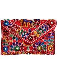 Women's Embordierd Multi Coloured Shoulder Bag/Traditional Bag/Jhola/Jaipuri Rajsthani BagWomen Rajasthani Gujarati...
