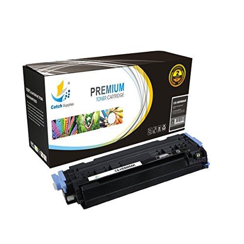 Preisvergleich Produktbild CatchSupplies Ersatz Q6000A Schwarz Tonerkartusche für die HP 124A Serie | Kompatibel mit dem HP Color LaserJet 2600N, 1600, 2605N, 2605DN, 2605DTN, CM1015 MFP, CM1017 MFP