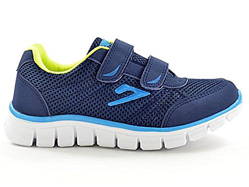 Kids 811201 Galop Mesh Touch Close Trainers Girls Boys Infant Casual Sports Shoes Size 10-2 (UK 12.5 Kids, Navy/Blue/Green)