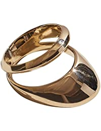 Pamela Love Women's Gold Plated Brass Small Agnes Ring Size