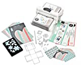 Sizzix Big Shot Plus Starter Kit White/Gray A4 Stanzmaschine Prägemaschine Schneidemaschine White & Gray 36tlg.