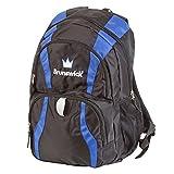 Brunswick Crown Backpack Bowling Bag, Black/Royal - Best Reviews Guide