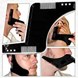 JSDL Beard Shaping Tool. Beard Shaper for achieving perfect beard lines. Shape your Beard easily with Beard Shaping Template. Multiple Beard styles possible using this amazing Beard Stencil
