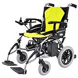 WU Elektrischer Rollstuhl Lithium-Batterie Klapplicht und Hohe Ausdauer,EIN,Einheitsgröße