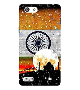 Takkloo flag of india ( indian flag, flag picture with indian flag, tri colour flag) Printed Designer Back Case Cover for Oppo Neo 7 :: Oppo A33