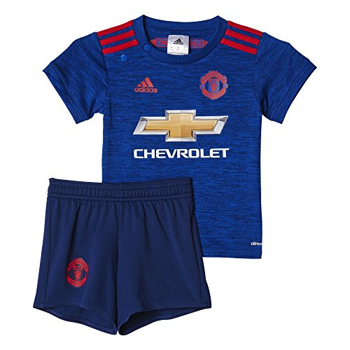 5f250ee81e9 adidas MUFC A BABY - 2nd football kit Outfit of Manchester United 2015 16  for Unisex Children