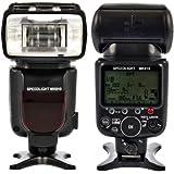 Mcoplus - Speedlite MK910 - HSS Blitzgerät (LZ 60) für Nikon   1/8000   i-TTL/TTL kompatibel - wie der SB-910