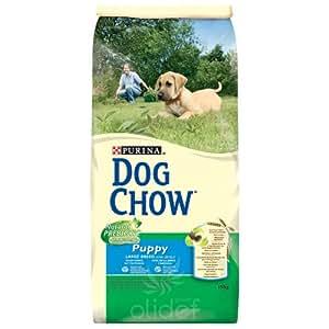 Dog Chow - Dog Chow Puppy Large Breed Dinde et Riz Contenances : 15 kg