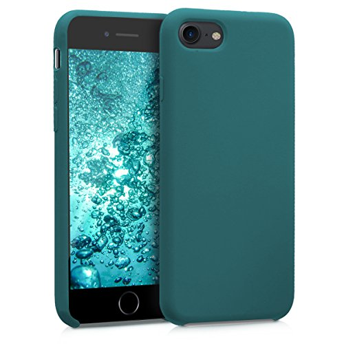 kwmobile Apple iPhone 7/8 Hülle - Handyhülle für Apple iPhone 7/8 - Handy Case in Petrol matt