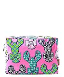 Lobster Bow Print NGIL Large Cosmetic Travel Pouch
