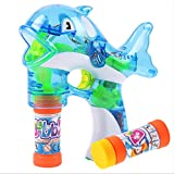 Best Bubble Guns - CYNDIE Dolphin Bubble Gun with LED light Review
