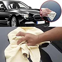 """zhuotop 1pieza forma natural 16""""20"""" 24inch Paño de gamuza de piel Para Limpieza De Coches lavado ante absorbente toalla"""