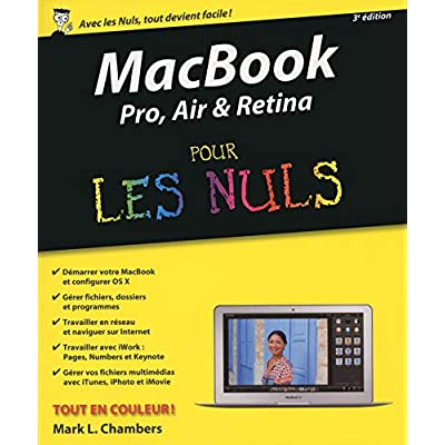 MacBook Pro, Air & Retina pour les Nuls 3e édition
