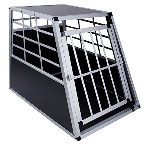 Hunde Transportbox, 65 x 91 x 69 cm, Aluminium Autobox, DC1