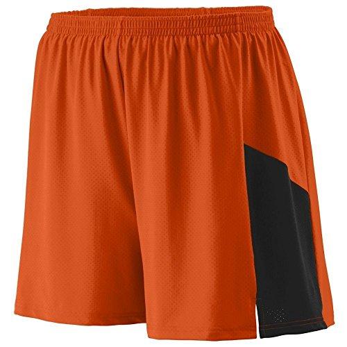 Augusta -  Pantaloncini  - Uomo Multicolore - Arancione/Nero