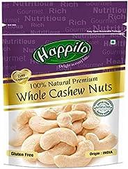Happilo100% Natural Premium Whole Cashews, 200g