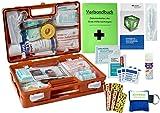 WM-Teamsport Sport-Sanitätskoffer Plus 2 Erste-Hilfe-Koffer DIN 13157 + DIN 13164 + Sportausstattung INKL. Sprühpflaster